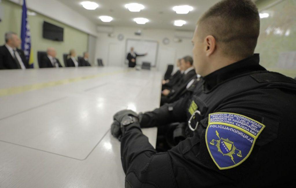 Javni natječaj za prijem kandidata za polaznike temeljne policijske obuke prve razine u Direkciji za koordinaciju policijskih tijela Bosne i Hercegovine