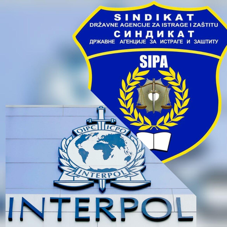 Podrška sindikata SIPA službenicima Odsjeka NCB Interpol Sarajevo