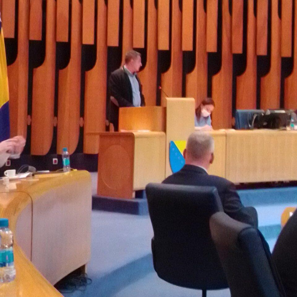 Održan sastanak sa članovima Ustavnopravne komisije Predstavničkog doma Bosne i Hercegovine