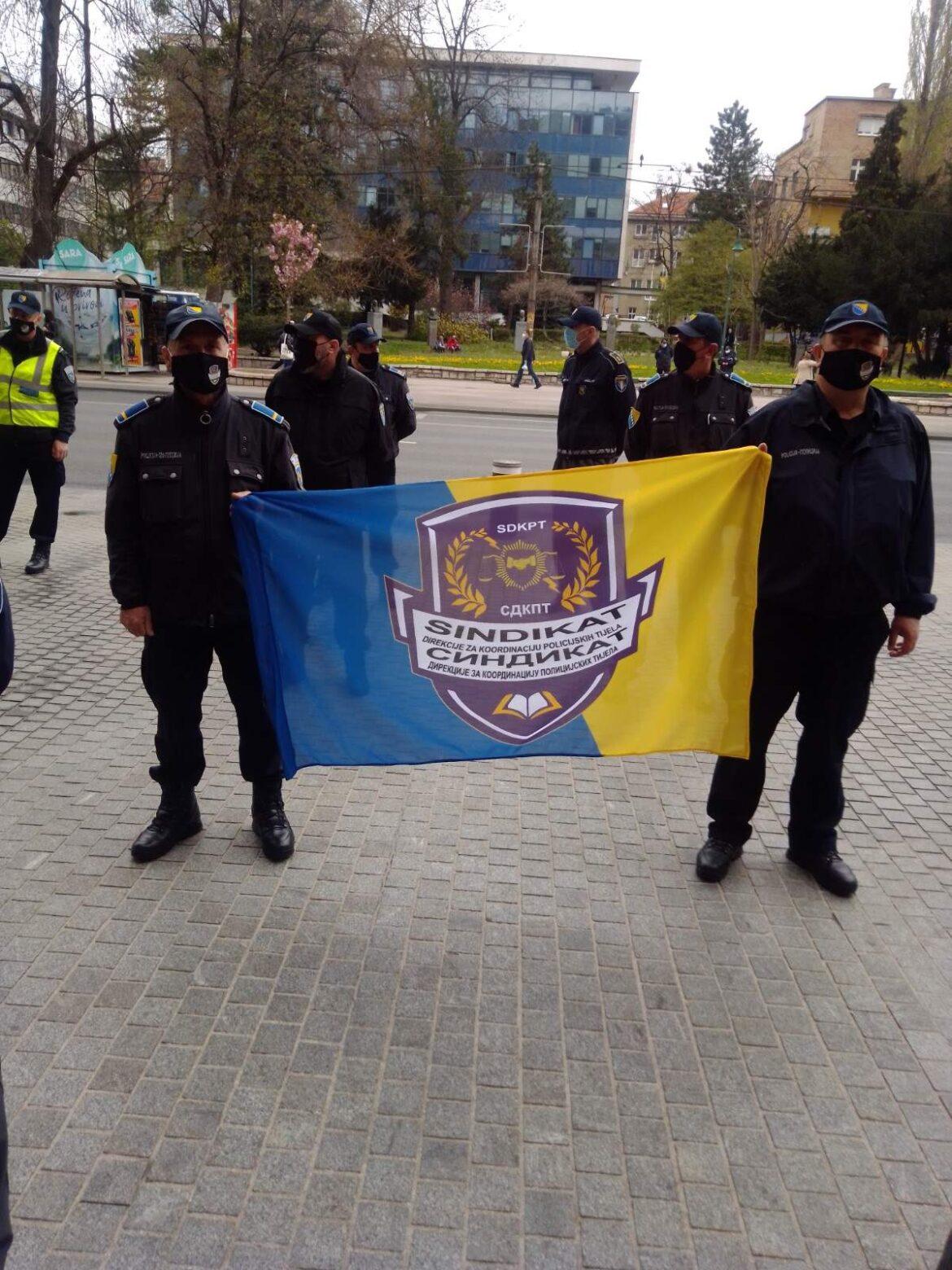 Protest zaposlenih u policijskim agencijama: Najmanje smo plaćeni u BiH